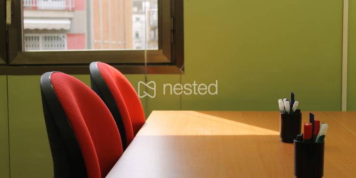 Mesa en Coworking Cruïlles_image